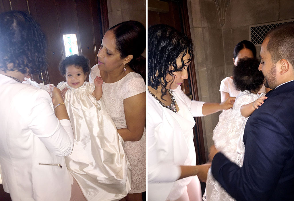 Milena's Christening Story | Penelope Heirloom Christening Gown & Bonnet
