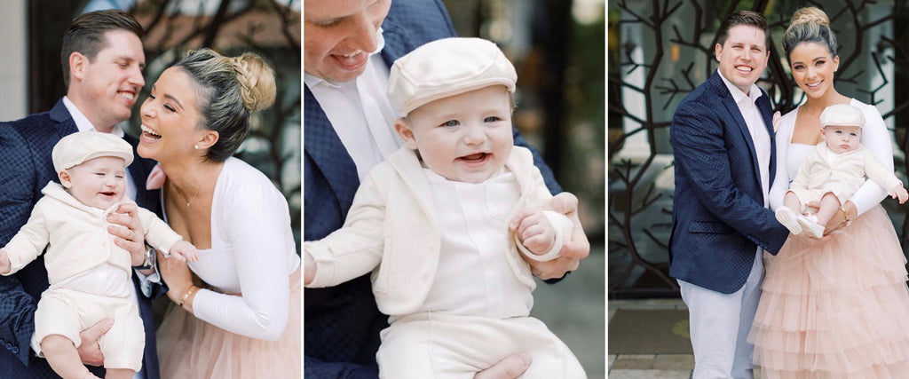 miles baby boy christening baptism outfit