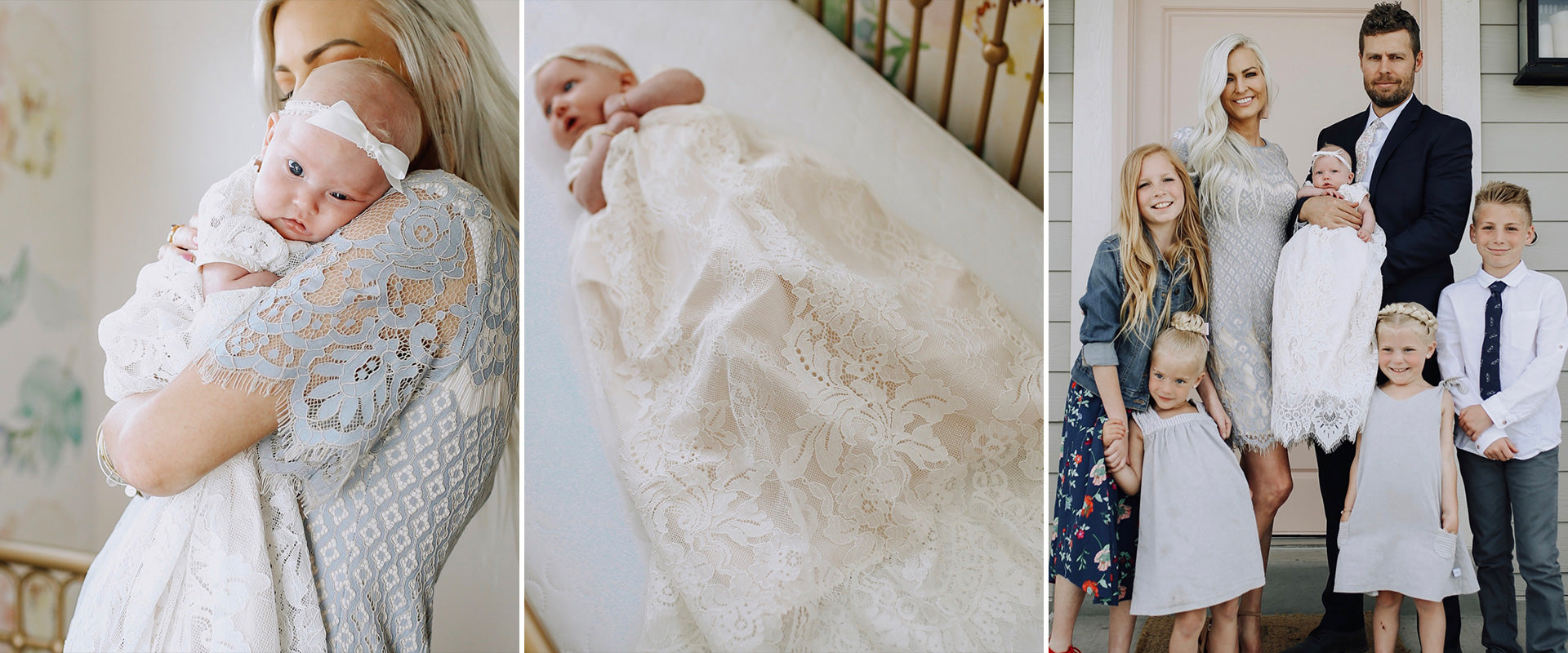 Christening Gowns and Baptism Outfits - ChristeningGowns.com –  Christeninggowns.com.