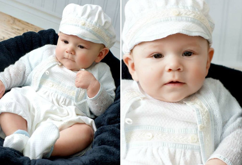 William's Christening Story | Harrison Jumpsuit & Sweater Set