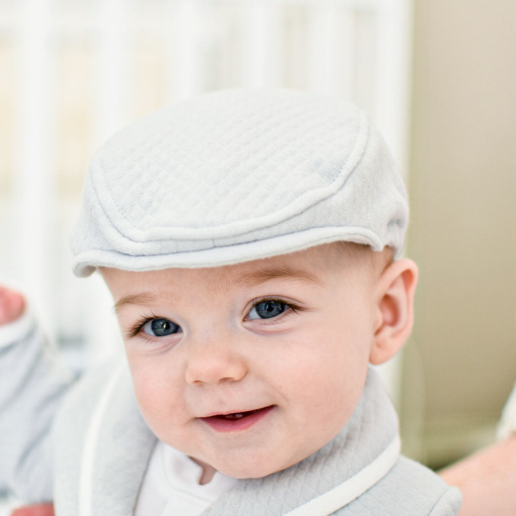 Grayson Quilted Newsboy Cap