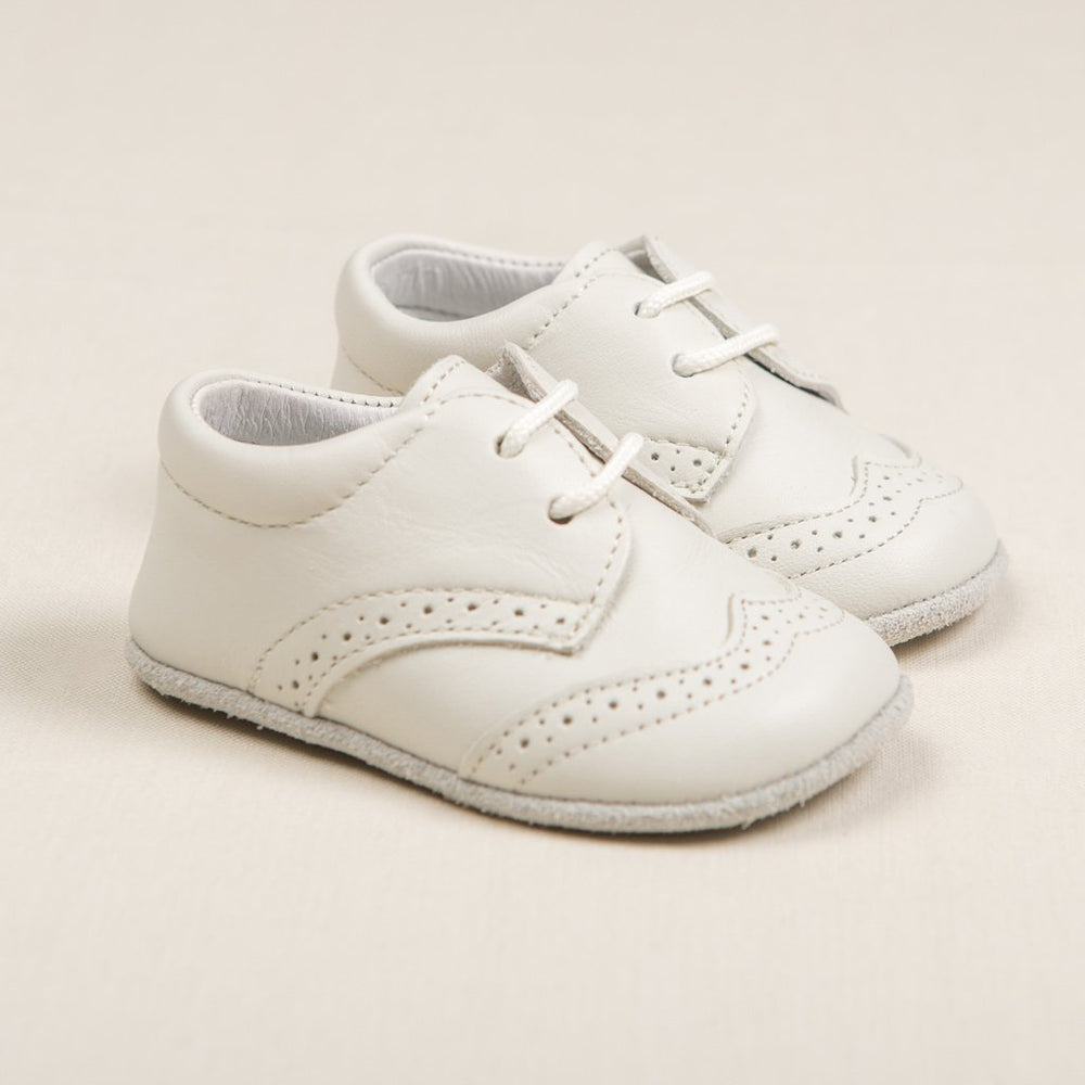 Boys Sand Wingtip Shoes (Size 16 Only) - Boys Shoes
