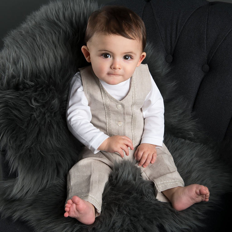 Braden 3-Piece Suit (3-6 Months only)