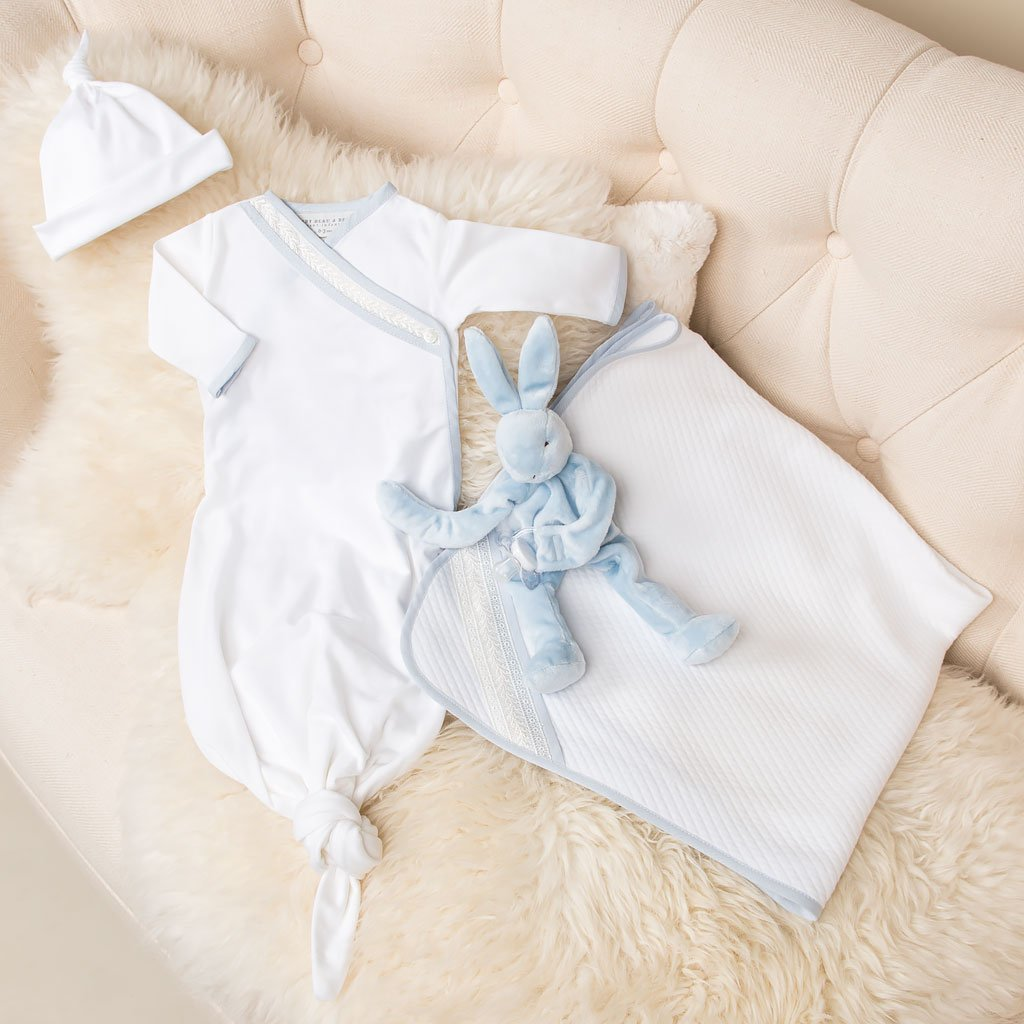 Boys Take Me Home - Charlie Layette Gown Set - SAVE 10 ...