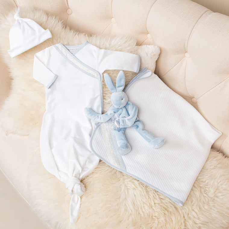 Charlie Layette Gown Set - SAVE 10%