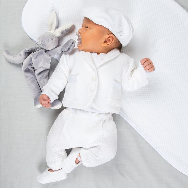 fc08eabea965 Dylan Newborn Christening Gown - Boys Take Home outfit - Bris Gown ...