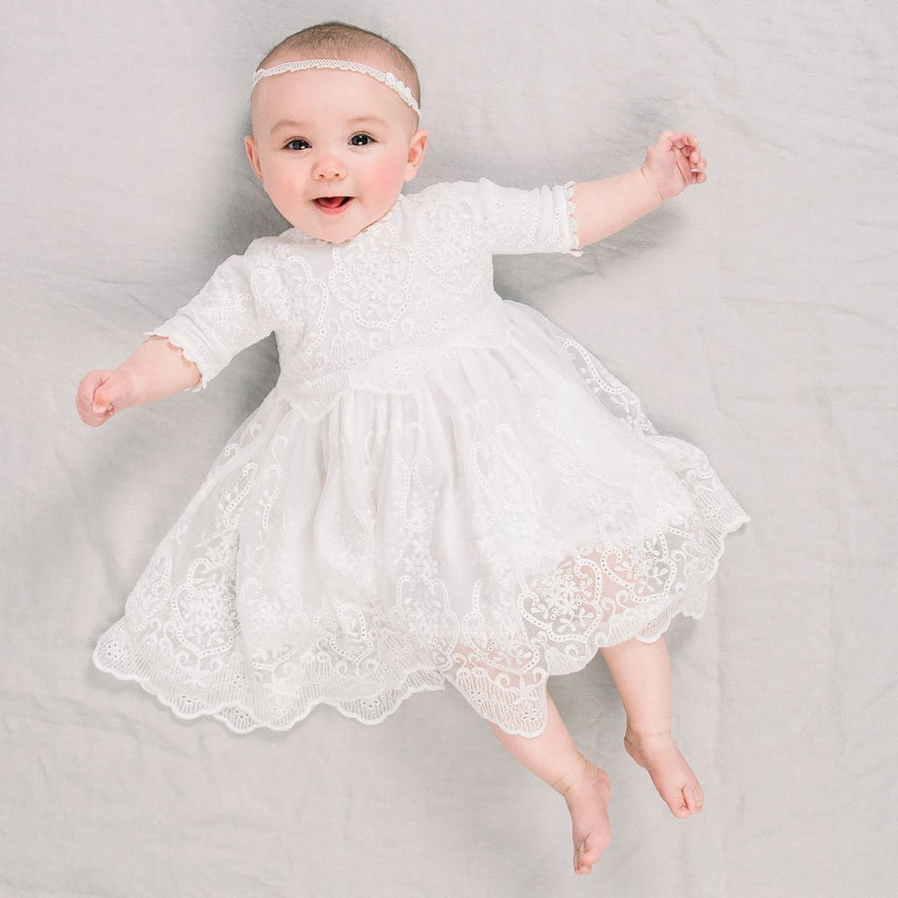 Eliza Blessing Dress & Headband
