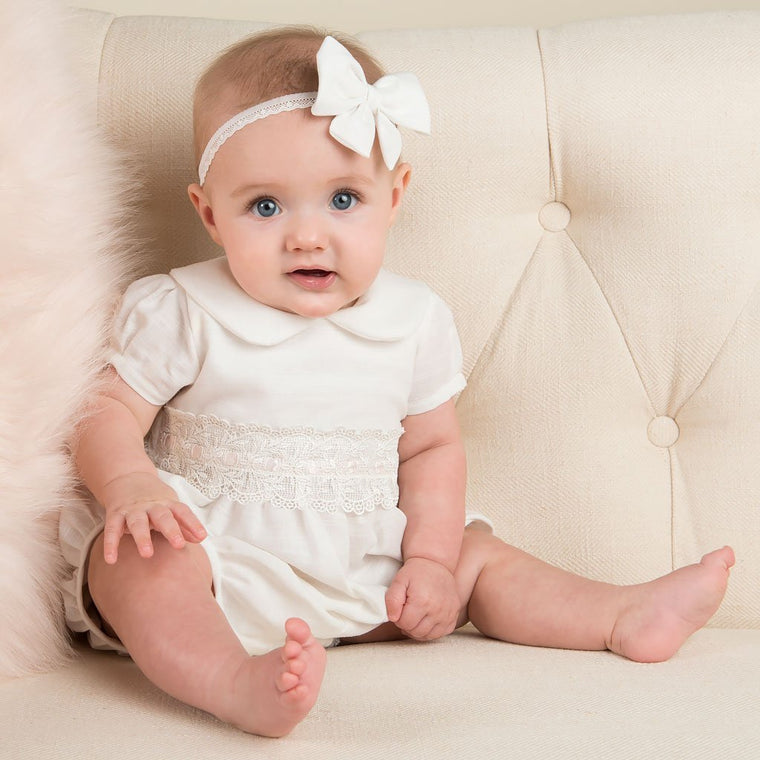 Emma Christening Bubble Romper