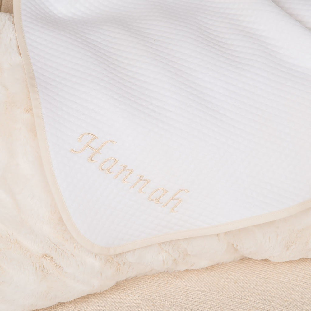Hannah Quilted Blanket - Girls Blanket