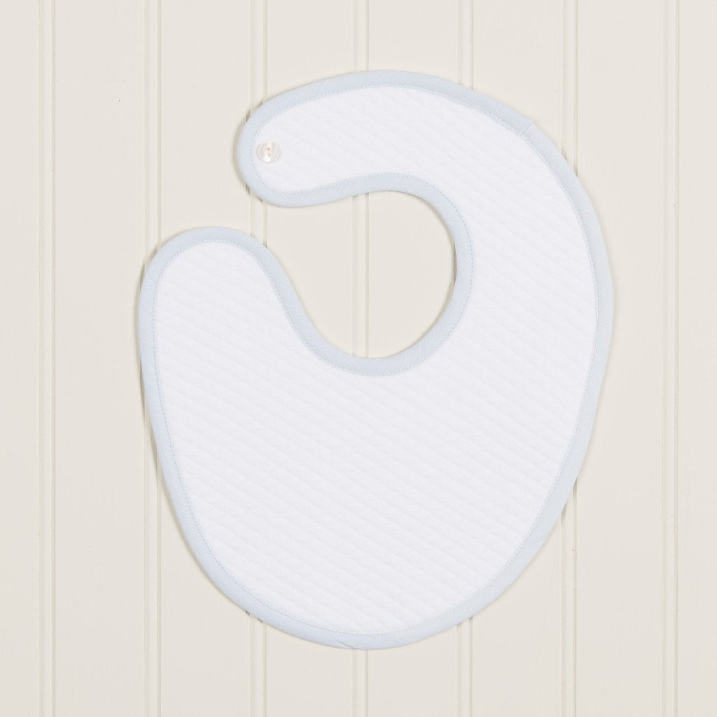 Harrison Christening Bib - Boys Bib