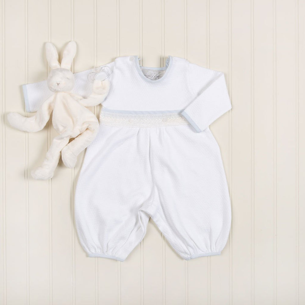 Harrison Christening Jumpsuit - Boys Christening Jumpsuit