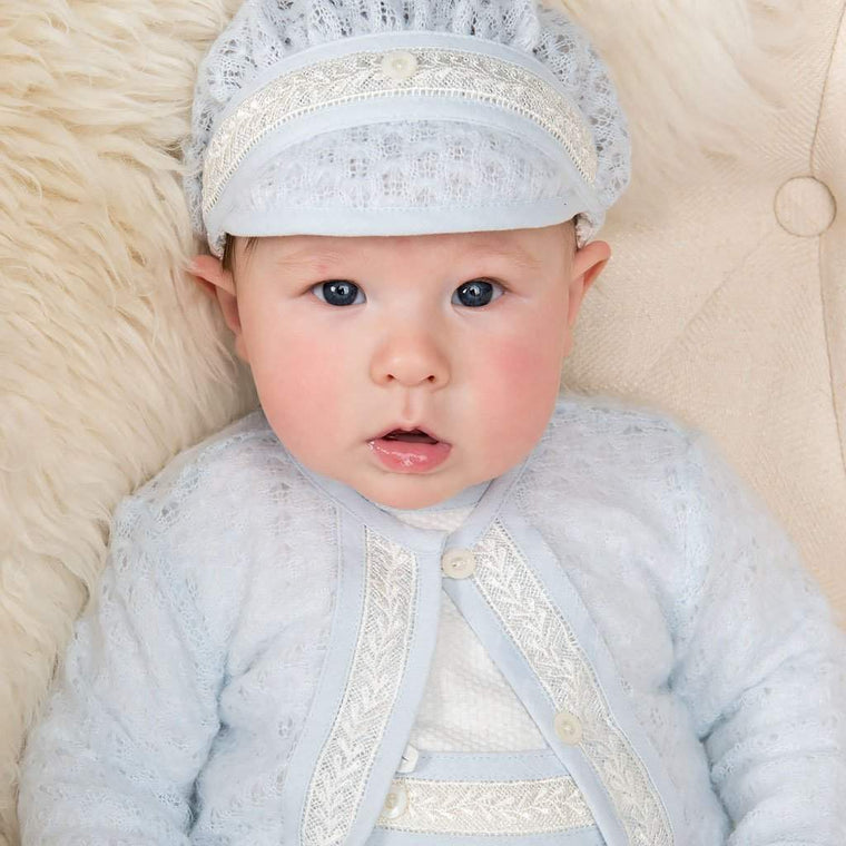 Harrison Knit Christening Sweater