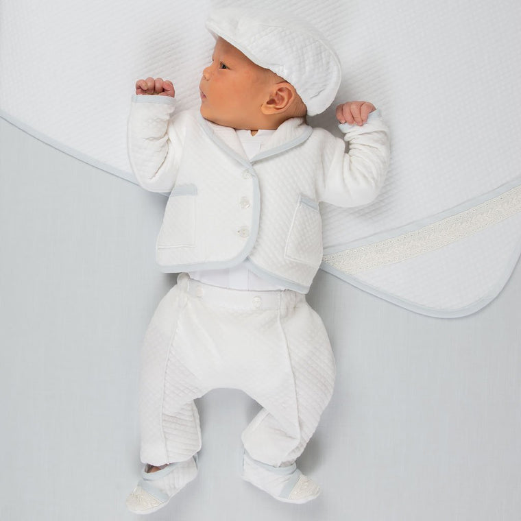 Harrison Quilted Newborn Suit
