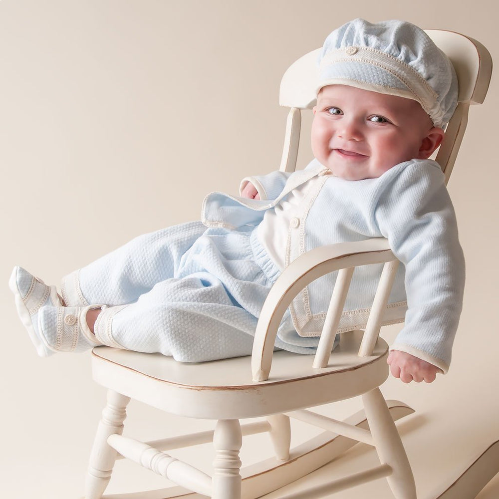 Jack 3-Piece Set (0-3 Months Only) - Boys Christening Suit