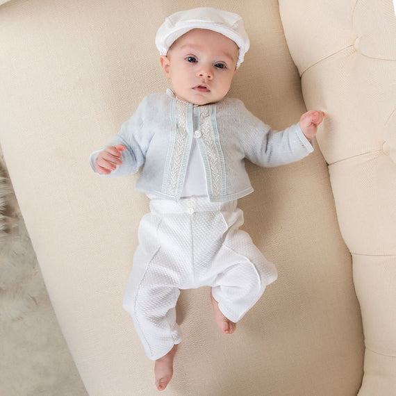 Jackson 3-Piece Set - Boys Christening Suit