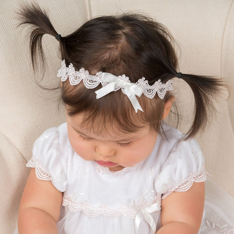 Joli Christening Headband