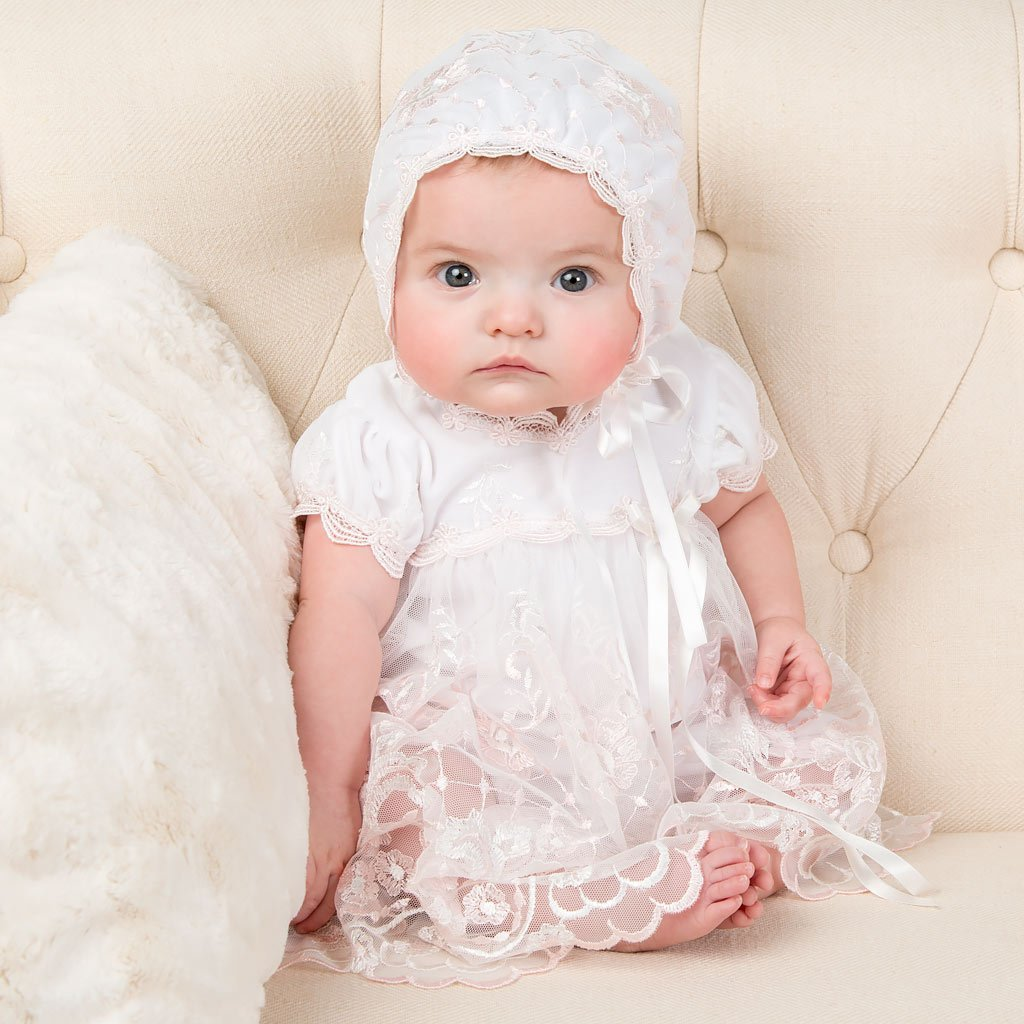 Joli Romper Dress - Girls Christening Dress
