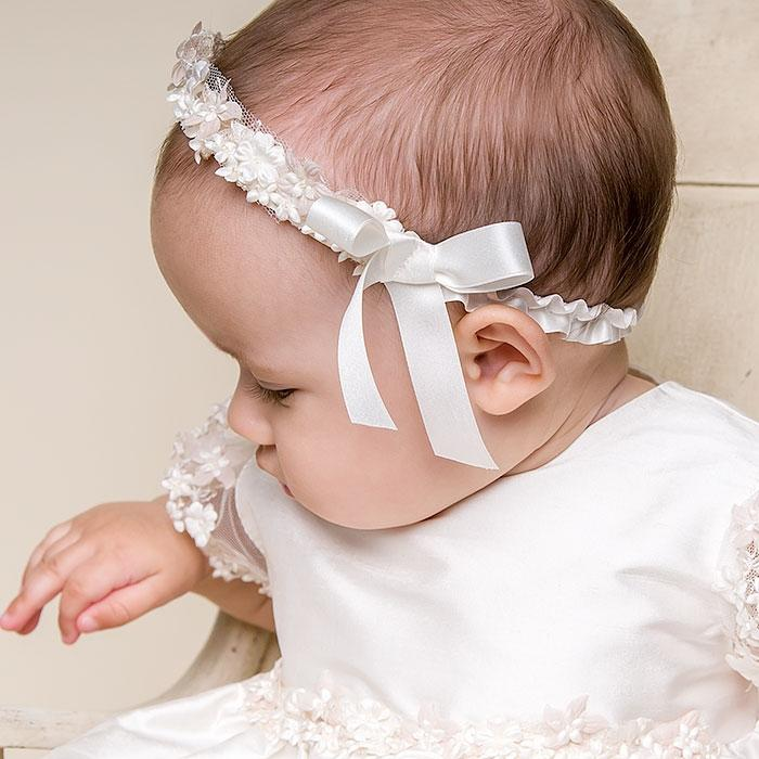Leila Headband- Ivory - Girls Headband