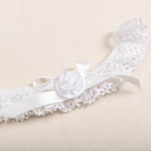 Louisa White Lace Headband - Girls Headband
