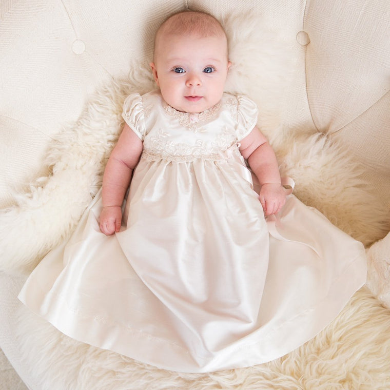Penelope Christening Dress & Bloomers