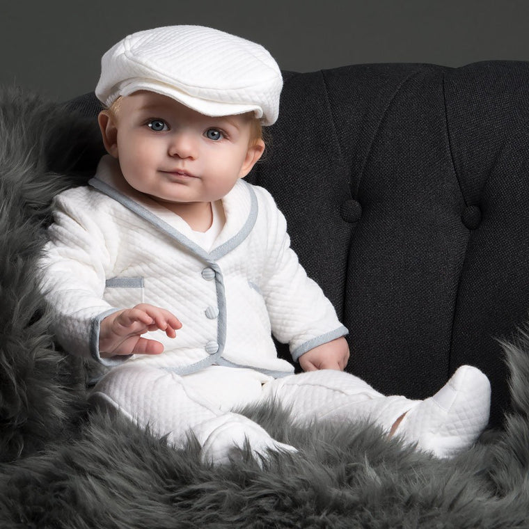 Peter 3-Piece Set - Boys Christening Suit