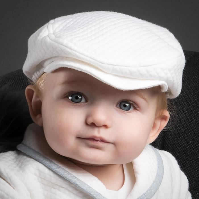 Boys Christening Hat - Peter Newsboy Cap – ChristeningGowns.com 3fff3d712c12