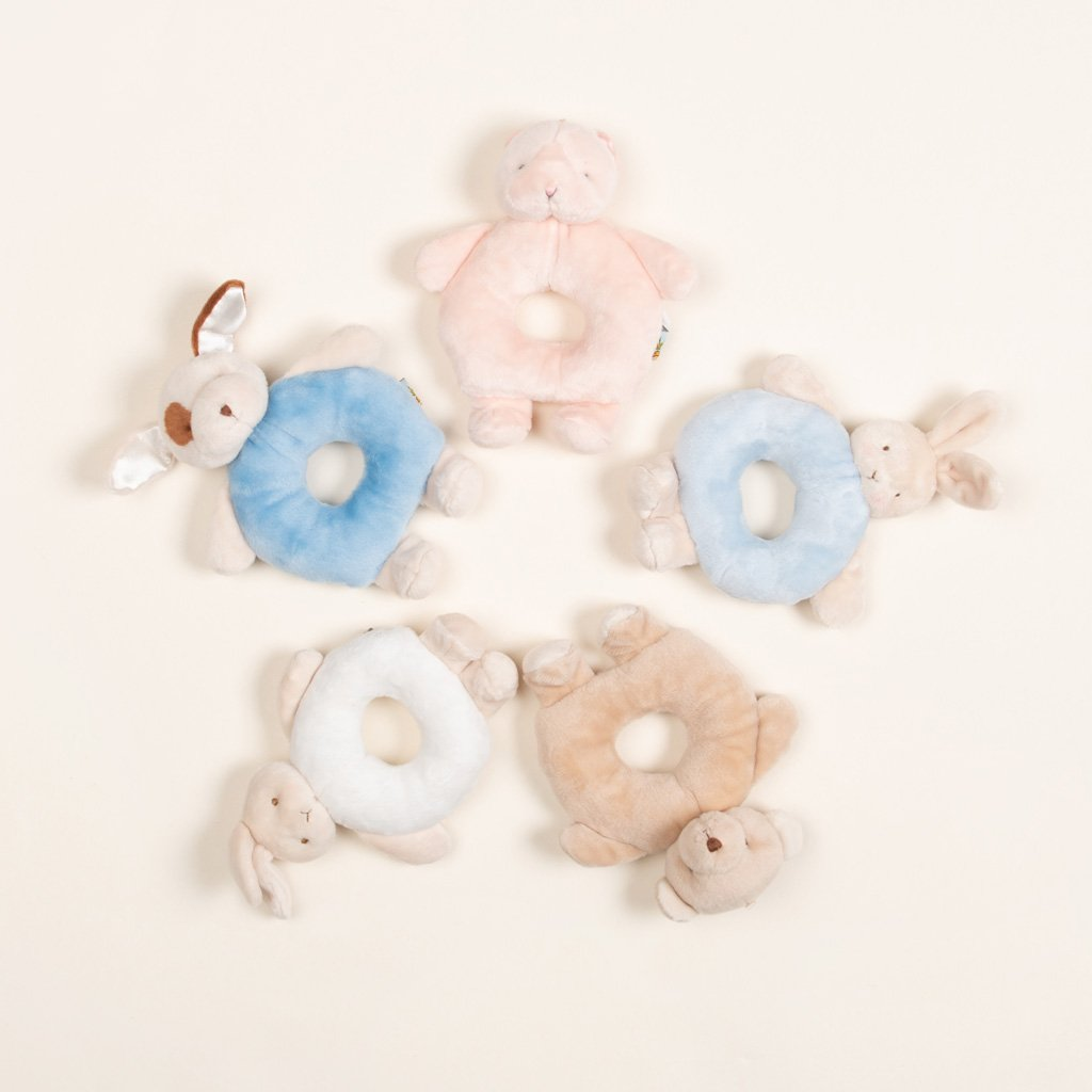 Ring Rattle - Christening Gift