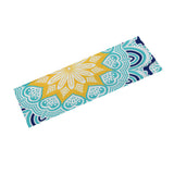 Golden Teal Yoga Mat