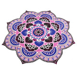 Bohemian Rose Yoga Mat