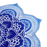 Tranquil Blue Shade Yoga Mat