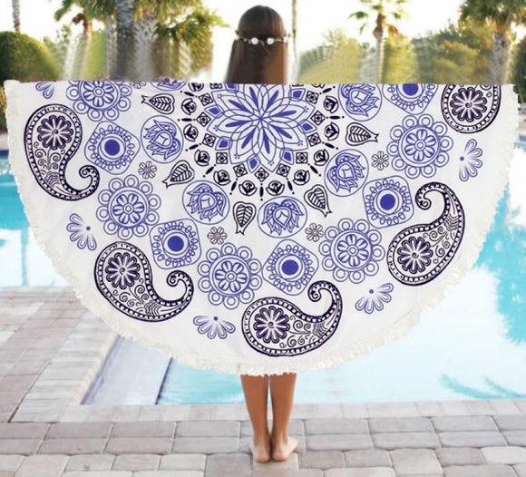 Basic Paisley Yoga Mat