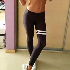 Classic Triple Stripe Black Legging