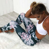 Eccentric Light Floral Legging