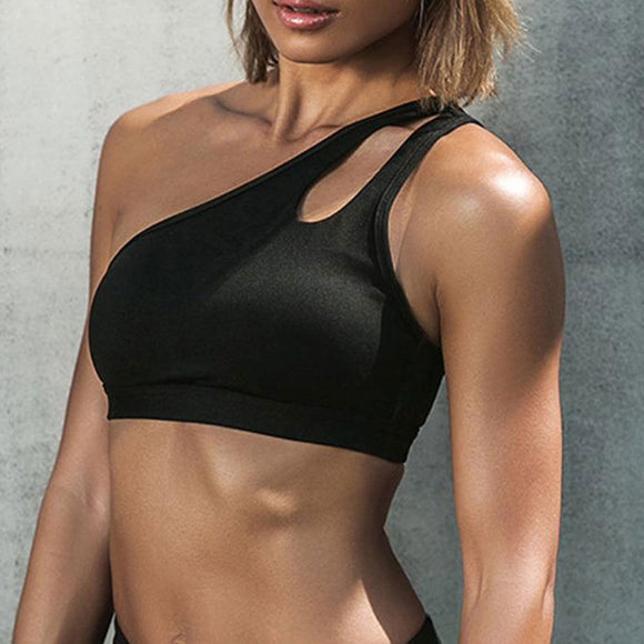 Mystique One Shoulder Sports Bra