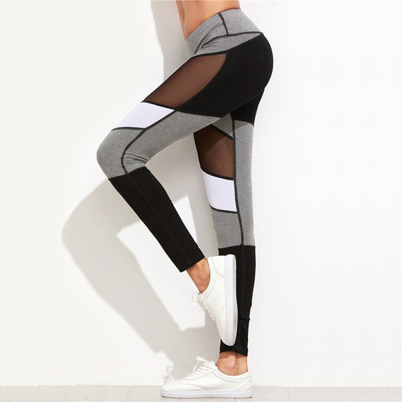 Aesthetic Ambiance Color Block Legging