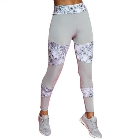 The Bare Goddess Collection Marble Mayhem Legging