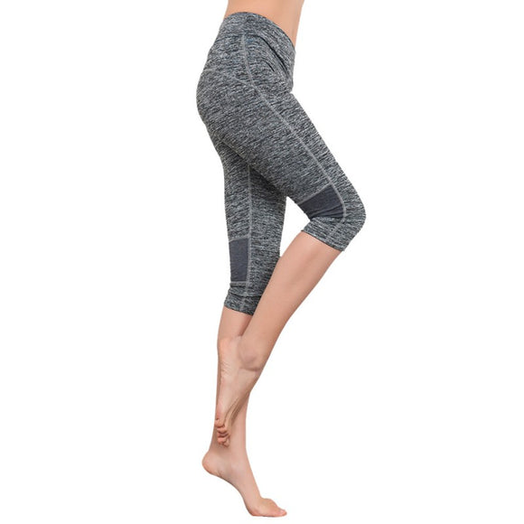The Bare Goddess Collection Capri Legging