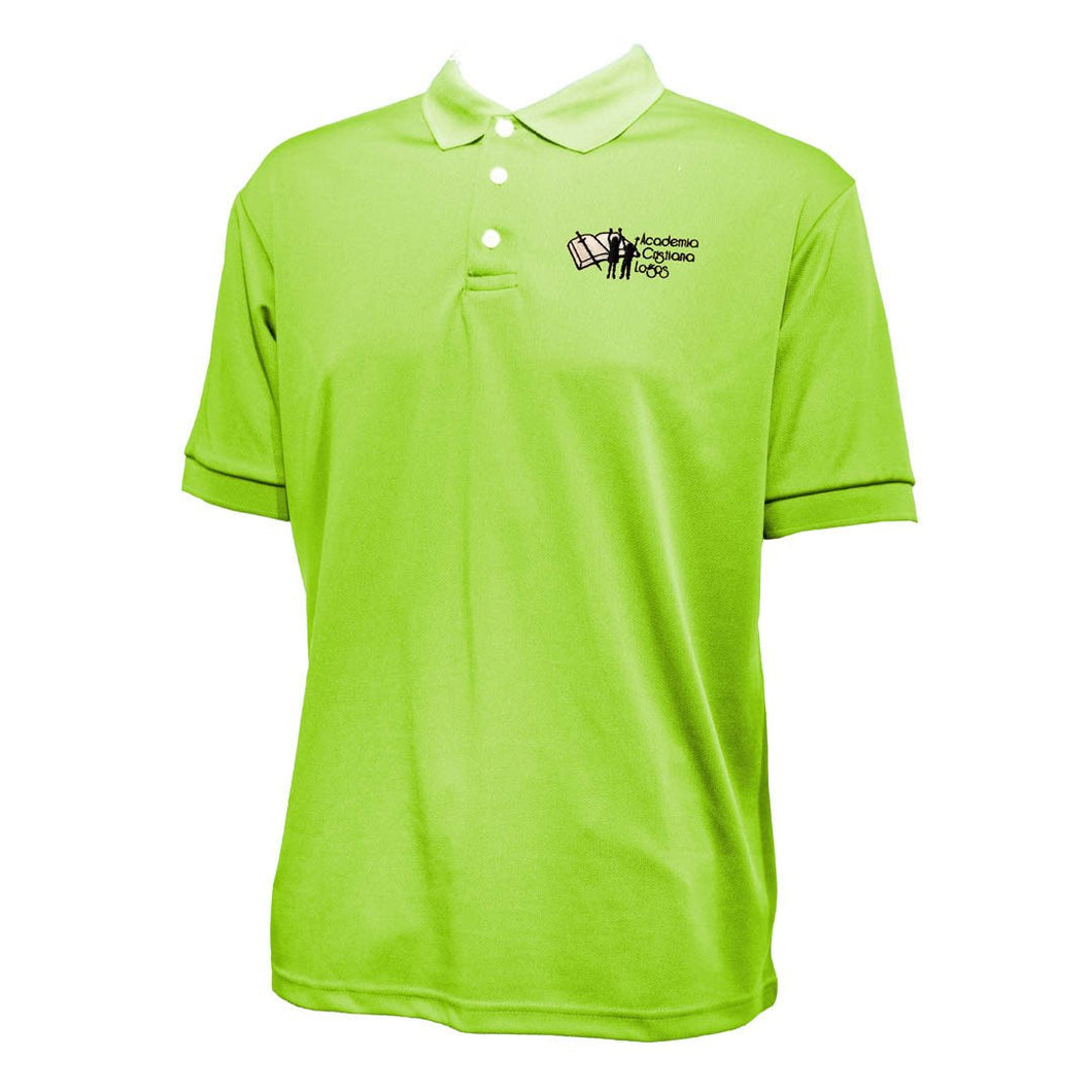 AC Logos | Elementary School Polo 2433 (Green)