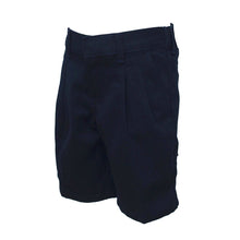 Baldwin School | Boys Pleater Bermuda Navy Shorts