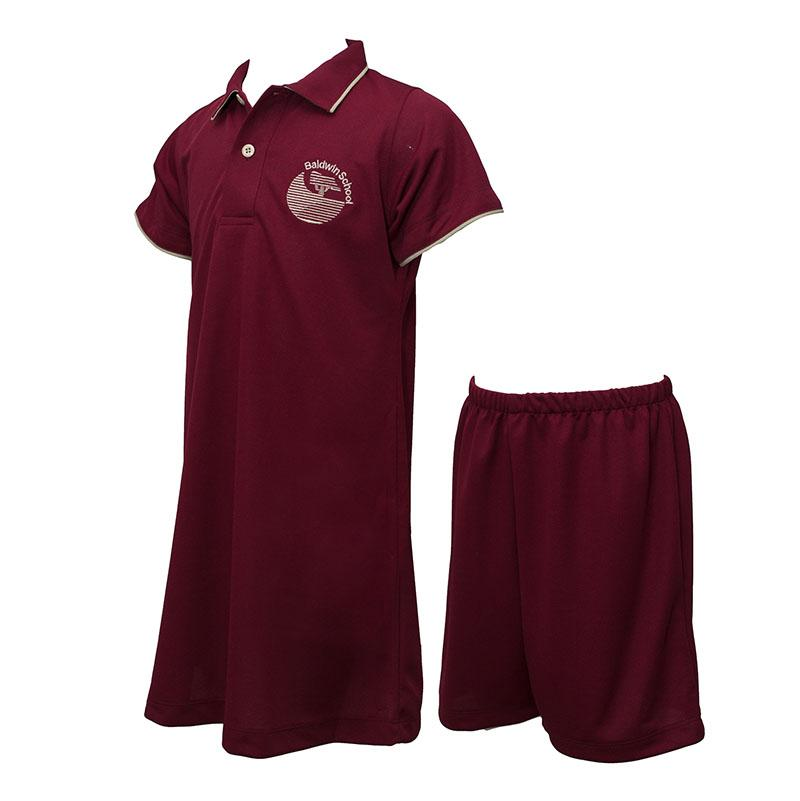Baldwin School | Girls Short Sleeve Dress and Short Pants