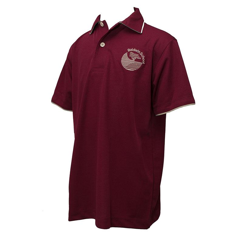Baldwin School | Girls Burgundy Polo