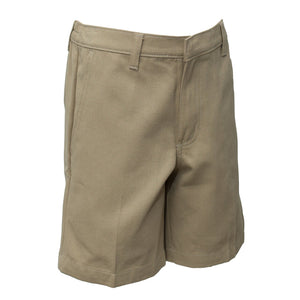 Baldwin School | Girls Plain Bermuda Khaki Shorts