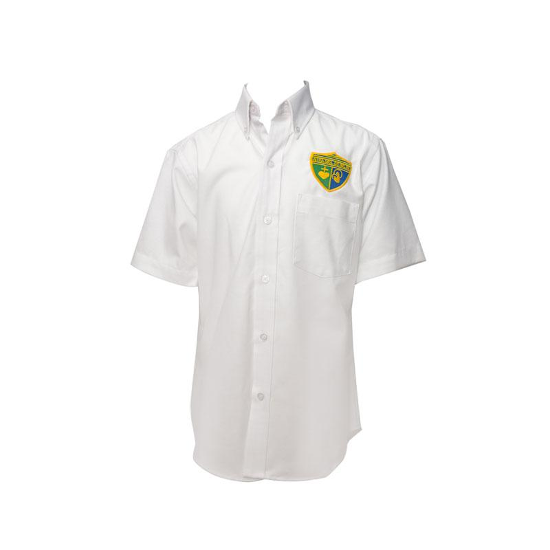 Ntra. Sra. de Belén | Girls Short Sleeve Oxford Shirt