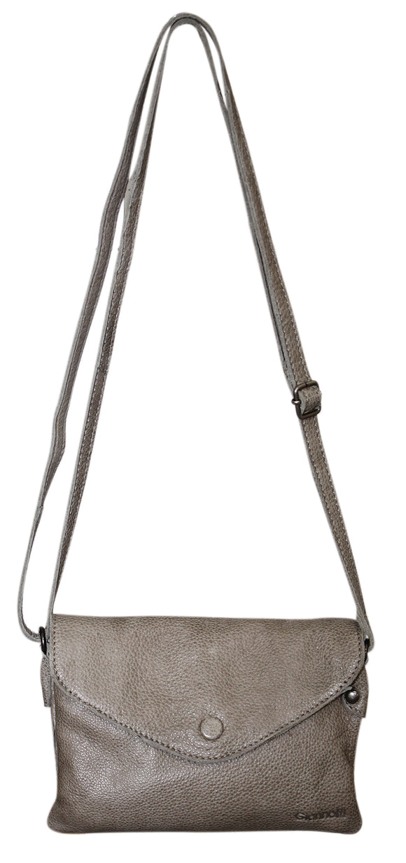 Gianotti small crossbody bag / purse- Mushroom