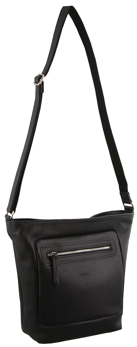 Milleni small crossbody handbag - Black
