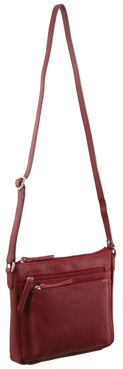 Milleni small crossbody handbag - Red