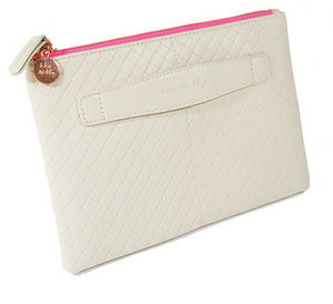 Liv And Milly Plaited Clutch-Nude