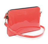 Liv And Milly Crossbody Bag-Coral