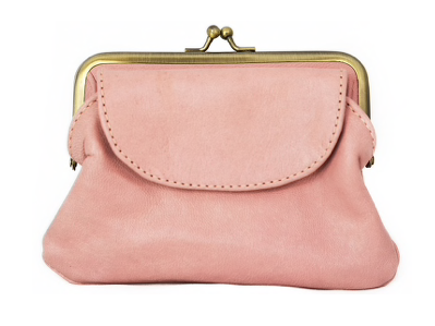 Empire Of Bees Penny's Purse-Pastel Pink