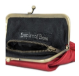 Empire Of Bees Penny's Purse-Red